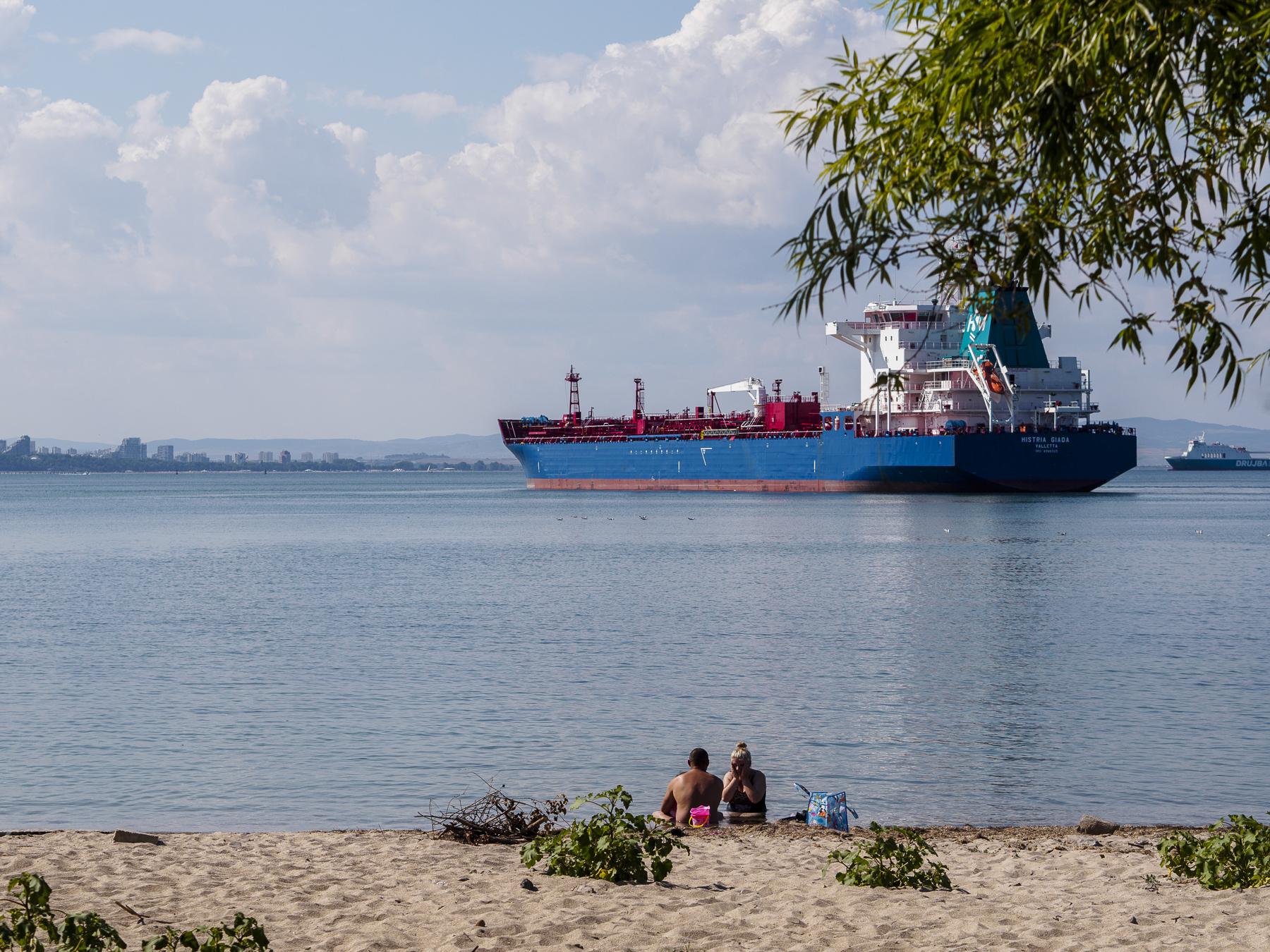 Mis primeras vistas del Mar Negro